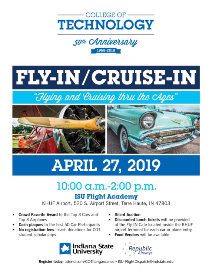ISU Fly-In / Cruise-In 2019